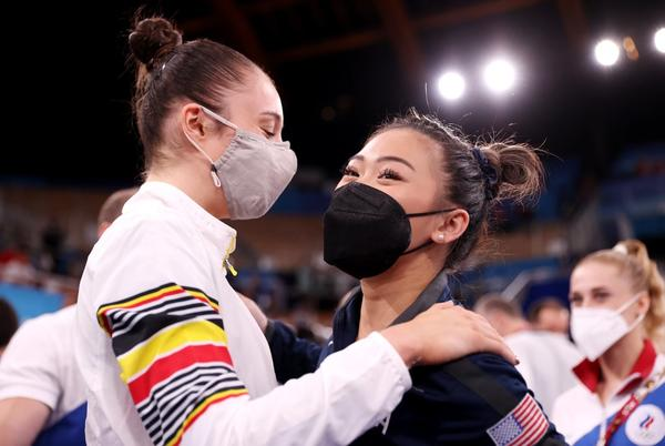 Picture for Suni Lee Swings to Bronze and Nina Derwael Makes History at Olympic Gymnastics Bars Final