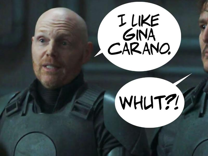 Bill Burr DEFENDS Gina Carano! Hollywood is AFRAID of ...