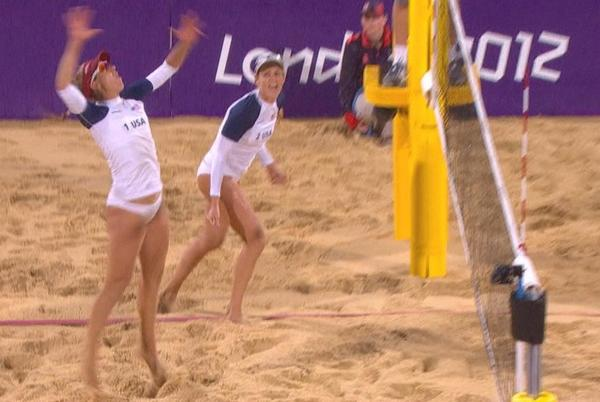 Picture for At Tokyo Games beach volleyball, anything but business as usual