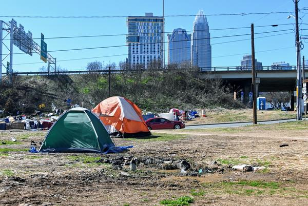 Picture for Former Charlotte Tent City Residents Will Move Into New Hotels, Mecklenburg County Says
