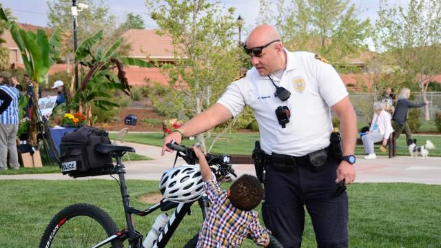 Picture for St. George Police Officer dies of COVID-19 complications