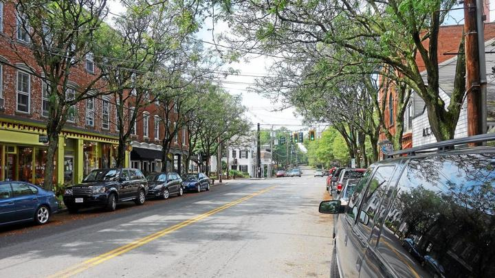 Cover for Rhinebeck seeks up to 150K for village crosswalks