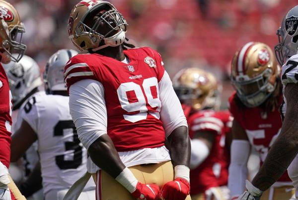 Picture for 49ers Week 2 injury report: Defensive line could get reinforcements vs. Eagles