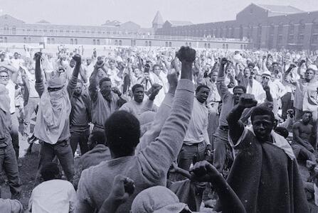 Picture for 50 years since Attica Rebellion: We salute 'prisoners' Paris Commune'