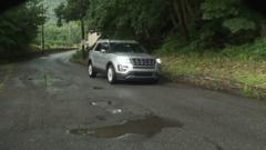 Cover for Residents frustrated with decaying road in Schuylkill County