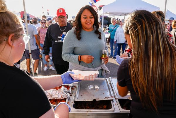 Picture for Business meat-ing: Hub City BBQ Cookoff blends food, fun, networking