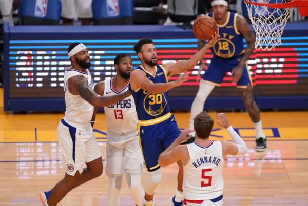 """Picture for Paul George Challenged Steph Curry To Take A Shot From The Logo, Then Lived To Regret It: """"I Ain't Miss One Yet, Come On."""""""