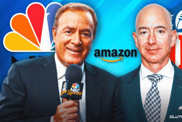 Picture for Al Michaels eyeing move from NBC to Amazon
