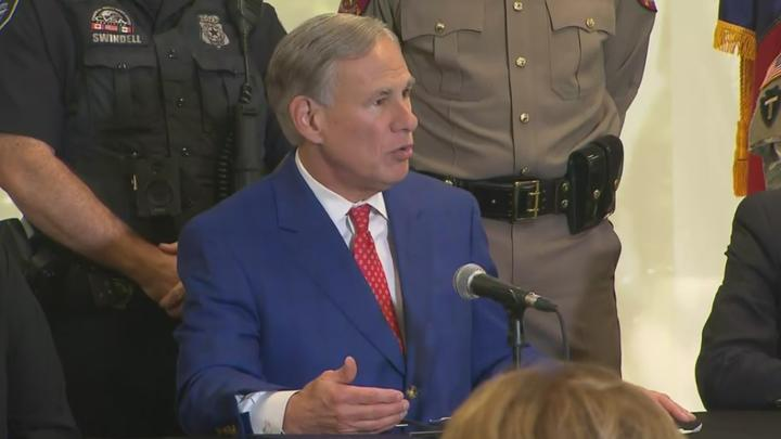 Cover for Gov. Abbott Signs $2B Texas Border Security Bill Into Law In Fort Worth