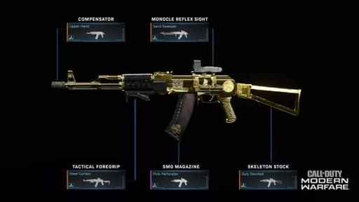 New Cod Modern Warfare Update Lets You Mix And Match Weapon