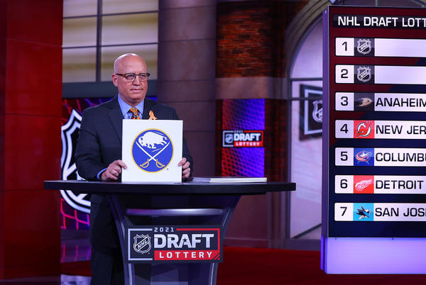 Picture for Sabres win No. 1 pick in 2021 NHL Draft in lottery