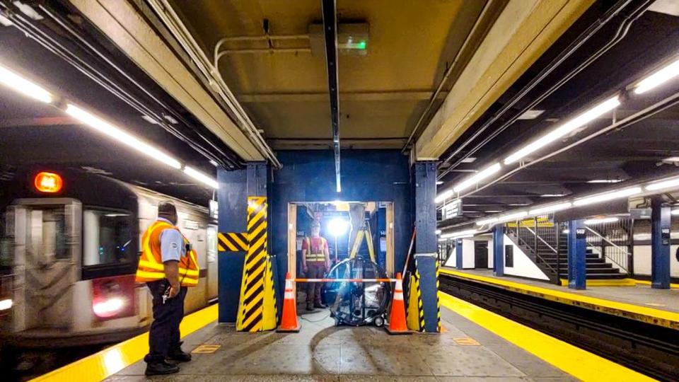 Picture for Elevator Construction Begins at 149th St-Grand Concourse