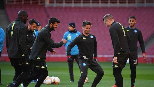Napoli Are Aiming To Beat Their Curse Of Freezing In Europe Against Arsenal 30 Years On From Diego Maradona And Co Winning The Uefa Cup News Break