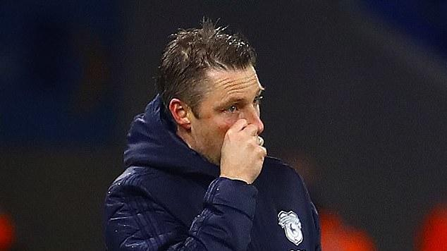 Picture for Neil Harris is SACKED by Cardiff following six-game losing streak that has left them 15th in Championship... as owner Vincent Tan insists 'sadly we are in a result-orientated business and progress has been very poor'