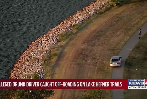 Picture for Oklahoma woman arrested after driving vehicle on Lake Hefner trails while allegedly intoxicated with baby in the backseat