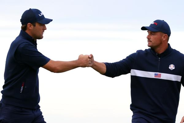 Picture for Four-Ball rally increases U.S. lead to 11-5
