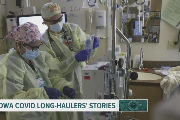 Picture for Hear from 2 Iowa women still battling COVID long-hauler symptoms