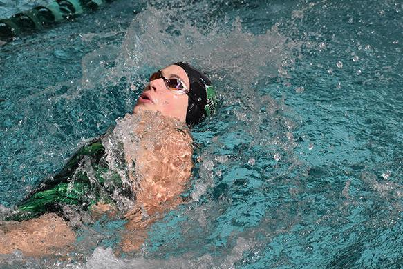 Picture for Green River Wolves swim to victory at home
