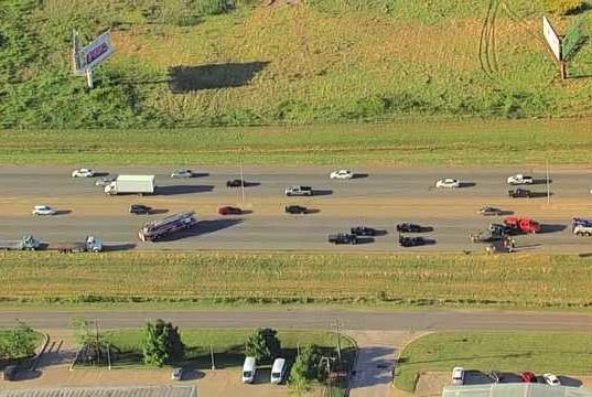 Picture for Eastbound I-40 in OKC closed due to deadly crash