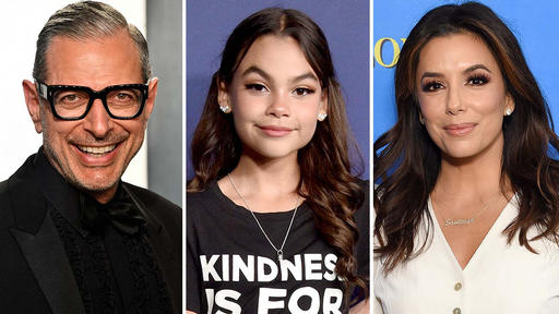 Jeff Goldblum Ariana Greenblatt Eva Longoria Join The Boss Baby Family Business News Break