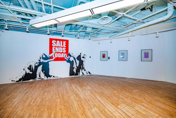Picture for The Art of Banksy: Without Limits Opens in Underground Atlanta