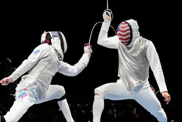 Picture for This top-seeded American fencer lost early, the day after his Olympic dream came true