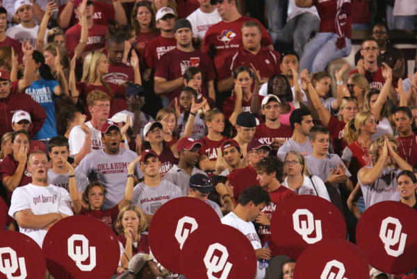 Picture for College Football World Stunned By Oklahoma Fan Chant