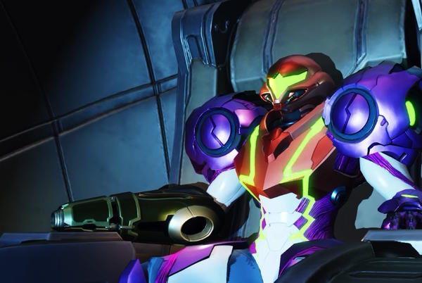 Picture for Samus Aran chooses not to speak in Metroid Dread, and that makes all the difference