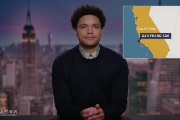Picture for Trevor Noah Goes Off on Mayor Breed and Her Maskless Club Appearance