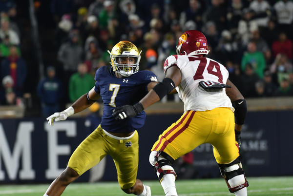 Picture for Irish rout Trojans under the lights