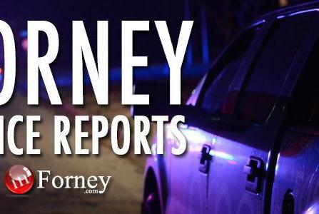 Picture for Forney Police Department reports, Oct. 18-24, 2021