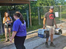 Picture for Good Shepherd transports animals to Michigan shelter