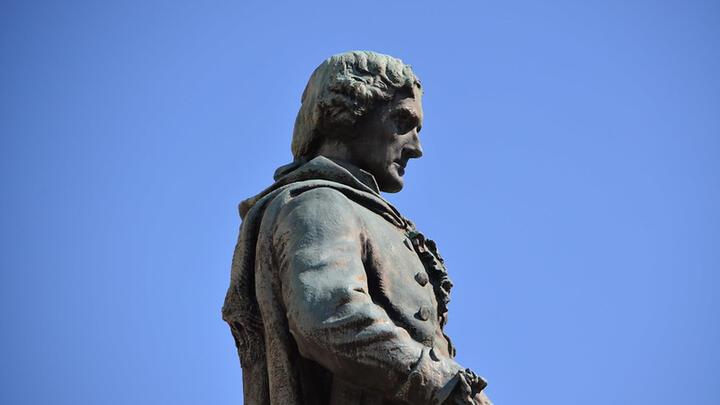 Cover for Donald Trump criticises the Jefferson Statue Removal