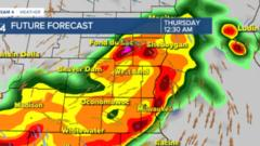 Cover for Timing out Wednesday night's possible severe storms in southeast Wisconsin