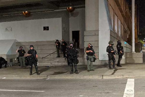 Picture for Judge: Portland Police violated law by filming protesters