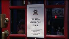 Cover for Mineola restaurant requiring vaccination for patrons, workers