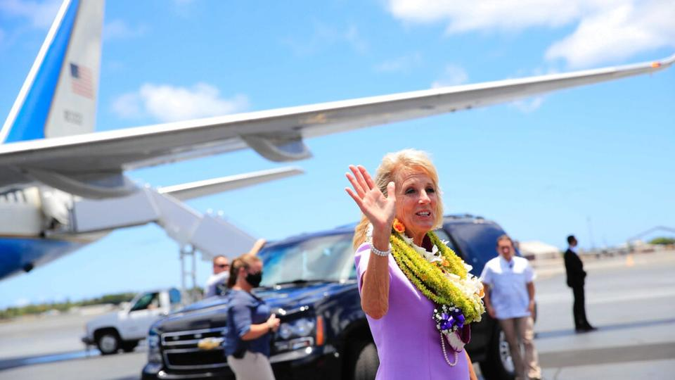Picture for Jill Biden undergoes 'successful' procedure after mystery object punctures foot