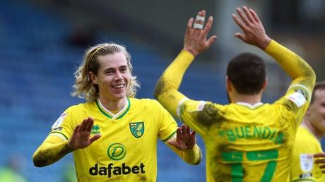 Picture for Norwich City say stars Emiliano Buendia and Todd Cantwell won't be sold for less than £30m