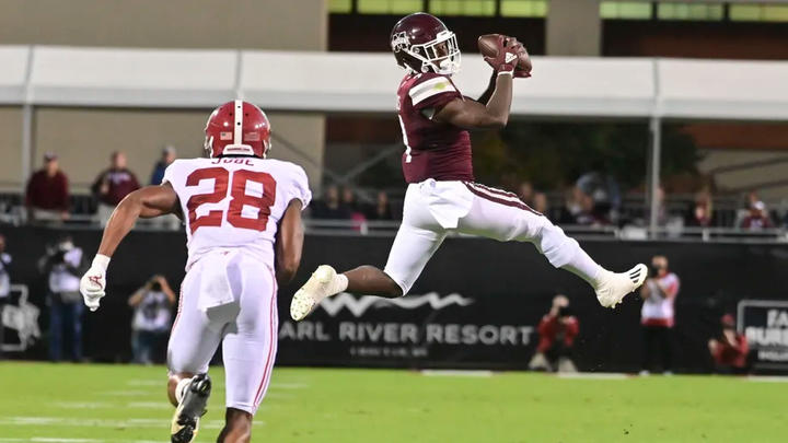 Cover for Mississippi State football suffers setback in loss to No. 5 Alabama