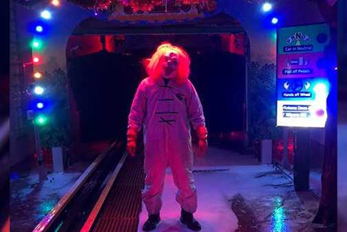Picture for Get a wash and a scare at this Ohio haunted car wash