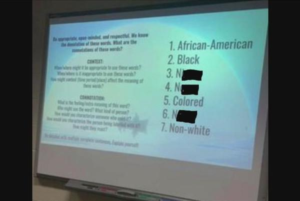 Picture for N-word used in Hilton High School lesson plan for 'To Kill a Mockingbird'