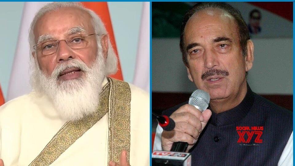Picture for Ghulam Nabi Azad lavishes praise on PM Modi