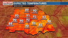 Cover for Another Sunny, Hot, and Humid day ahead across North Alabama