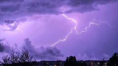 Cover for Thunderstorms threaten Maine on Saturday