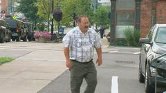 Cover for Fmr. fire chief accused of trying to lure minor over social media appears in court