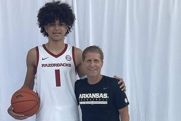 Picture for 5-star hoops target Black leaves Arkansas impressed