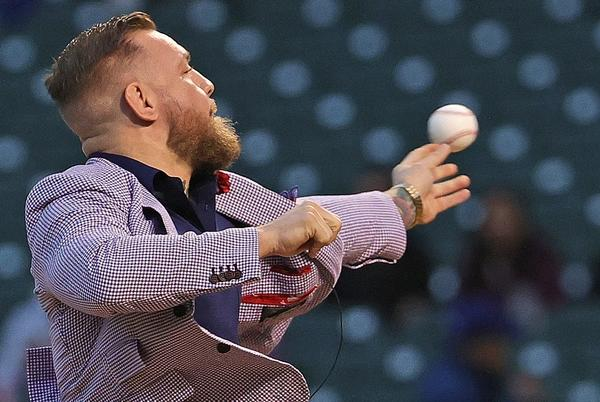 Picture for Where does Conor McGregor's first pitch rank among worst of all time?
