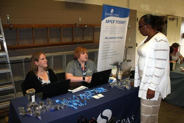 Picture for 'Second chance' employers attend career fair