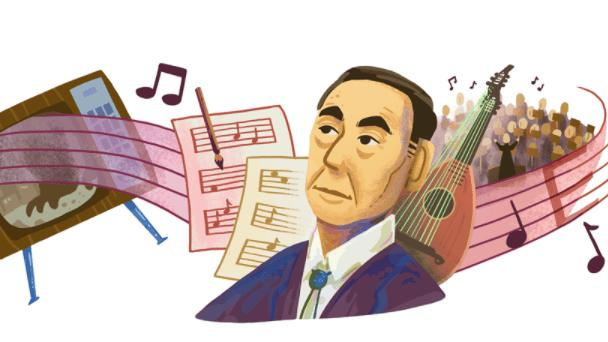 Picture for Akira Ifukube: Google Doodle celebrates late Japanese composer's 107th birthday