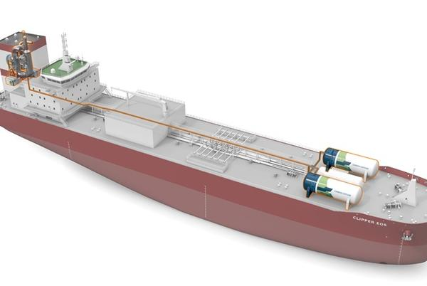 Picture for Wartsila to enable CO₂ capture retrofit on Solvang's vessel